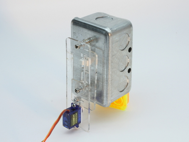 A Servo Switch - (SESW) Looking Very Floaty in a White Space