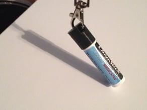 ChapStick Keychain Cap