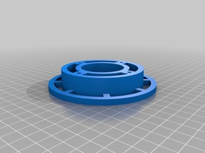 Spool hub for the Heavy Duty Filament spool for mendel