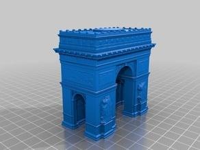 凱旋門(Arcdetriomphe)3Dデータ