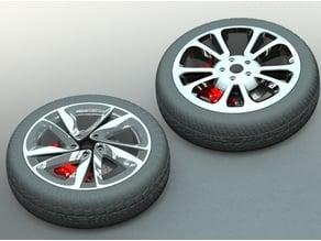 Car Rim Collection Set 2