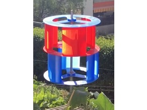 Stackable C-Rotor Vertical Wind Turbine  VAWT
