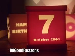 Custom Date (for 99GoodReason)
