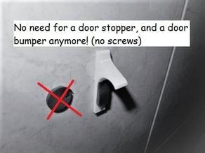 customizable 2in1 door bumper/stop