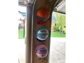 Basketball / Soccer Ball Holder