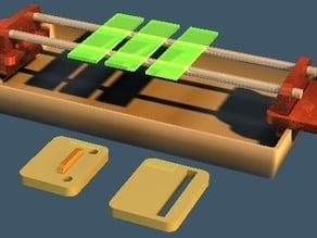 Slide staining rack