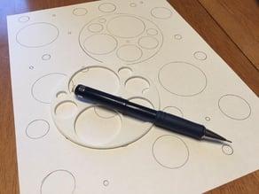 Metric Circle Stencil