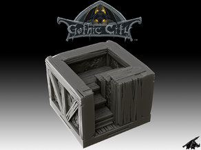 Gothic City Stairs II (JOIN our PATREONs)