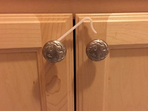 Custom-fit Cabinet Child Lock - Simple and Beautiful