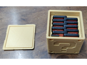 Question Block Switch Cartridge Case (11 cartridges + 2 microSD cards)