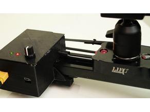 motorized cameraslider Upgrade - for 30€