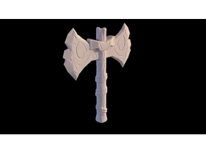 Viking stylised axe (check bio)