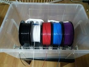 IKEA Samla 45l box filament storage