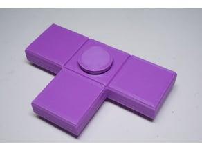 Tetris T-piece Fidget Spinner