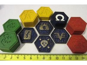 Forbidden Stars All Tokens - Remake