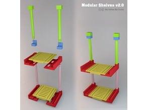 Modular shelves - étagères modulables