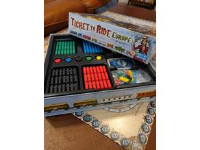 Ticket to Ride Europe Organizer