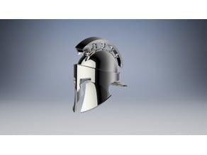 Custom Spartan Helmet
