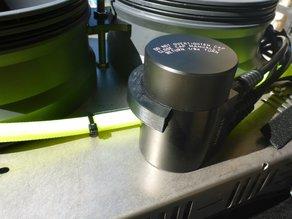 Micro rEvo Rebreather - Clip to help installing cover