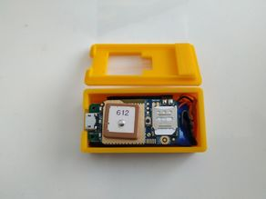 GPS-Tracker case with battery - KROAK DIY KIT - 365GPS.com