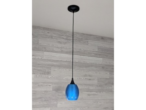 Simple Hanging Lampshade