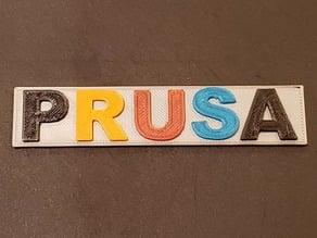 PRUSA i3 Mk3s MMU2 1st print test