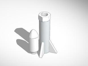 PHOTOS SOL 80 18mm Estes rocket