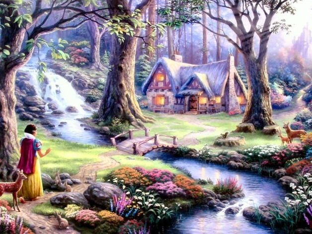 Snow White and the Seven Dwarfs' Cottage by WEDimagineer ...