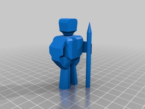 Spear Man   Basic Person with Spear   Player Base   Pawn Human