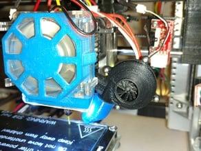 prusa I3 filament turbo fan