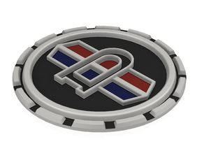 DATSUN LOGO 90mm diameter