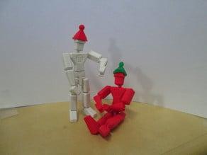 Winter MakerBot Man