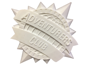 Adventurers Club plaque - inspired by Pleasure Island