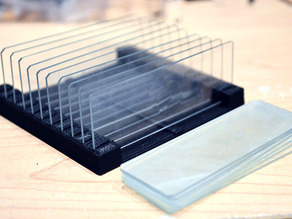 DIYBIO Microscope Slide Holder