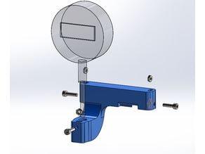 Digital indicator support for Alfawise U20 Semi-automatic printing bed level calibration