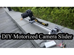 DIY Motorized Slider for DSLR