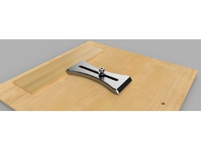 Clamp for little CNC milling machine (pince à matériaux pour CNC)
