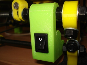 Power switch support for Prusa i2