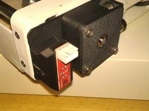 Support pour capteur optique de fin de bobine pour Dagoma D200