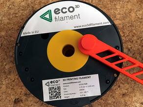 Eco3D Filament Spool Hole Reduction for original PRUSA i3 Printer