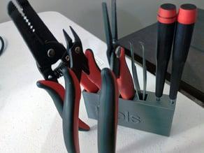 Electronics tool holder