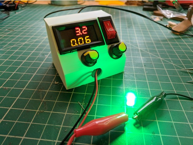$10 DIY Variable DC Bench Power Supply by tman67234