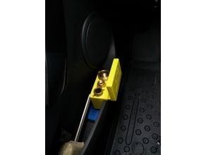 LPG Adapter car door holder