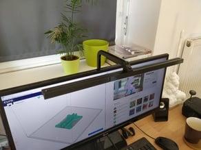 VESA Mounted LED Desk Lamp