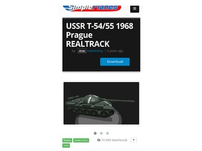 SimplePlanes T-54/55