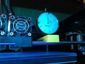 Holder for dial gauge
