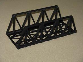 HO Scale Warren Truss Bridge 7.5 Inches