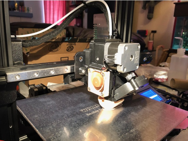 PrEnder 3 - Prusa MK3S Direct Drive Extruder to Fit Creality