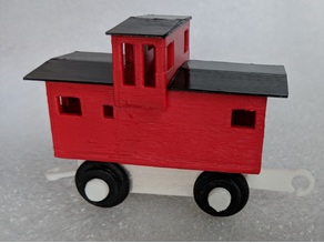 Caboose for Trackmaster