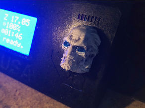 Prusa i3 - Selector Knob - Game of Thrones - White Walker